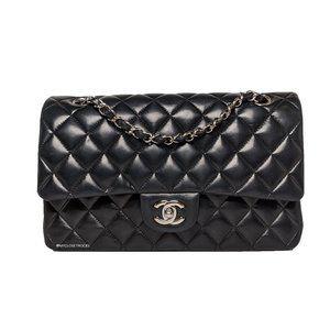Chanel Lambskin Medium Double Classic Flap Bag